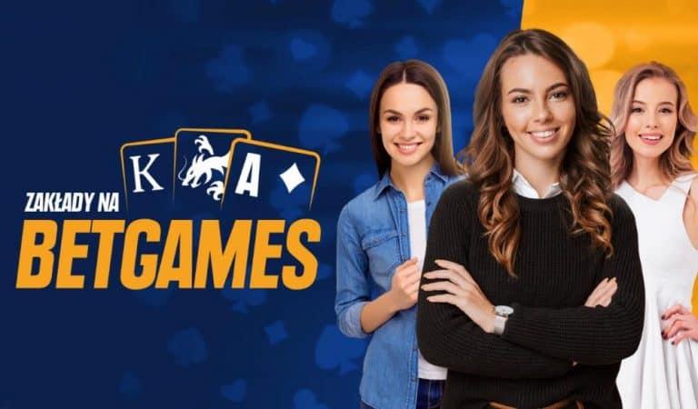 Zakłady na gry karciane w Betgames STS